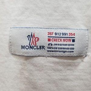 Moncler Tops - Moncler spellout huge logo on back pristine!